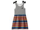 Akasa Sleeveless Multi Striped Dress (Toddler/Little Kids/Big Kids)