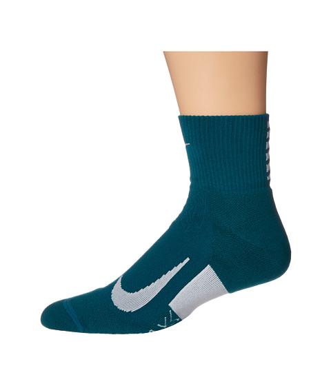Elite Cushion Quarter Running Socks