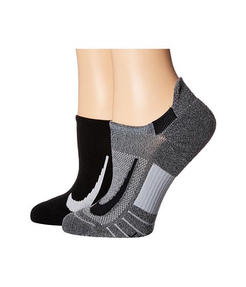 Multiplier Running No Show Socks 2-Pair Pack
