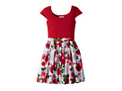 Maddy Roses Dress (Little Kids/Big Kids)