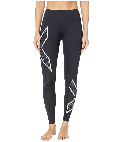 Bonded Mid-Rise Tights