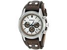 CH2565 Cuff Chronograph Leather Watch