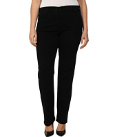 NYDJ Plus Size - Plus Size Marilyn Straight in Black